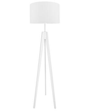 Lampa podłogowa biała