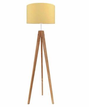 Lampa podłogowa musztarda