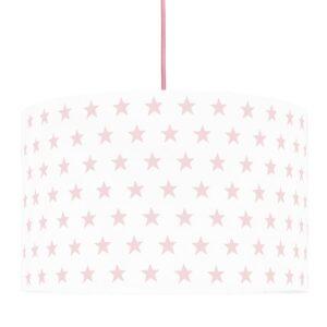 Lampa sufitowa gwiazdki różowe