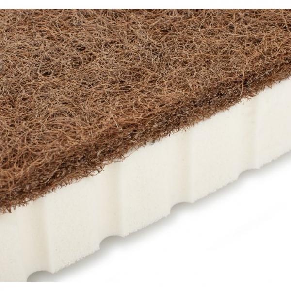 Materac lateksowo-kokosowy dla niemowląt Hevea Krzyś (Aegis )