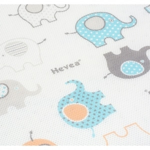 Materac piankowy Hevea Happy Baby 2 300x300 - Materac piankowy dla niemowląt Happy Baby