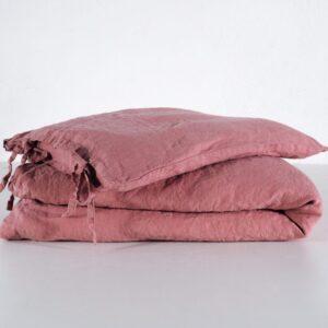 P3280549 1000x1000 300x300 - Lniana pościel dziecięca troczki dusty pink