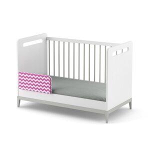 łóżeczko tapczanik elle białe