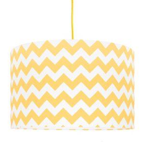 Lampa sufitowa do pokoju dziecka żółty