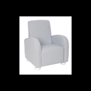 Fotel dziecięcy szary