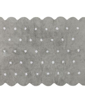 Dywan dla dzieci Galetta gris grey