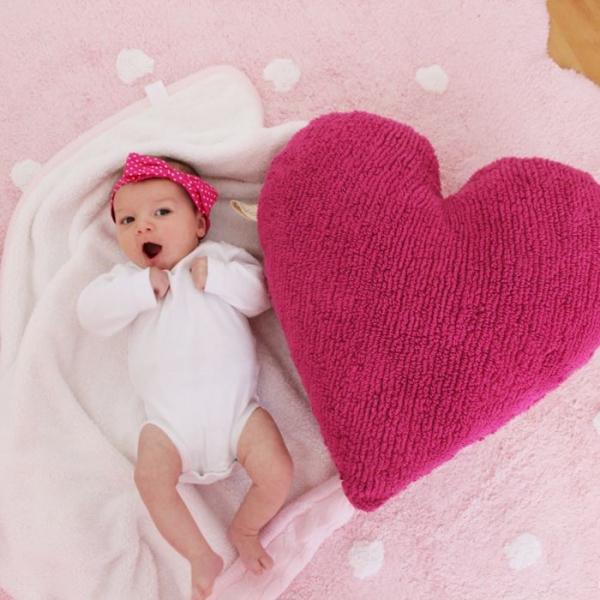 galettarose2 600x600 - Dywan dziecięcy różowy Galleta Rose