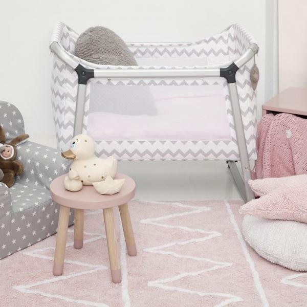hippysrose4 600x600 - Dywan Hippy Soft Pink