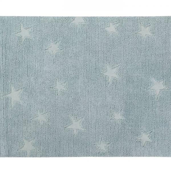 hippystarsblue1 600x600 - Dywan dziecięcy Hippy Stars
