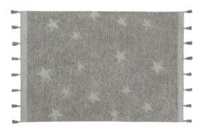 hippystarsgrey 300x195 - Dywan dziecięcy Hippy Stars Grey