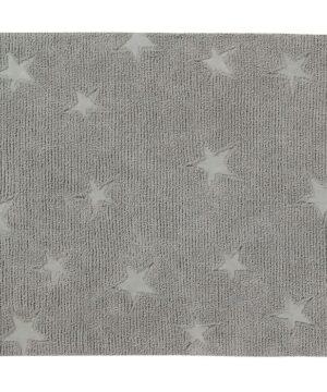 hippystarsgrey 300x360 - Dywan dziecięcy Hippy Stars Grey