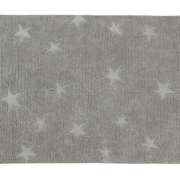 hippystarsgrey 600x600 - Dywan dziecięcy Hippy Stars Grey