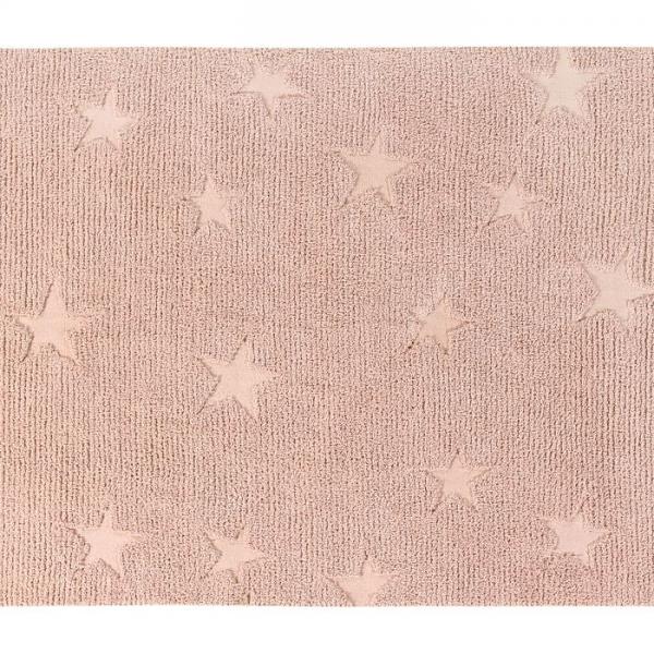 hippystarsrose 600x600 - Dywan Hippy Stars Vintage Nude