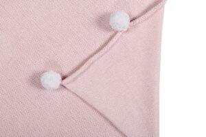 kocbubblypink2 300x200 - Kocyk dziecięcy Bubbly Soft Pink