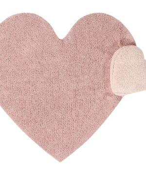 Dywan dla dzieci serce Puffy love