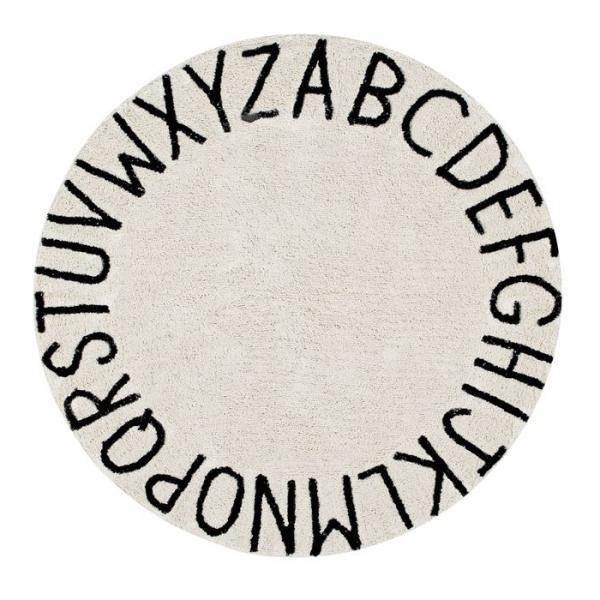 Dywan okrągły ABC, lorena canals