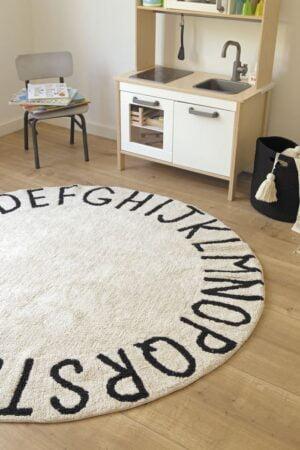 roundabc1 300x450 - Dywan okrągły ABC Natural