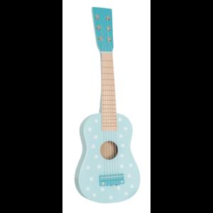 drewniana gitara pastelowy niebieski jabadabado.jpg 300x300 - Drewniana niebieska gitara