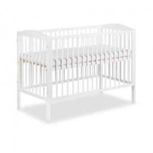łóżeczko dziecięce radek Ii klupś białe