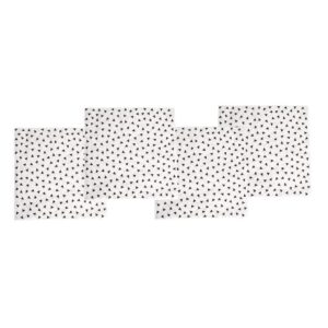 serwetki urodzinowe bialo czarne 300x300 - Serwetki urodzinowe czarno białe