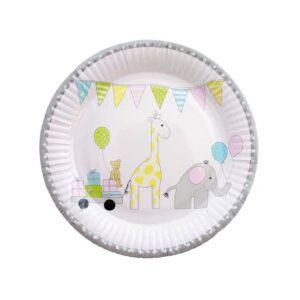 talerze urodzinowe zwierzątka