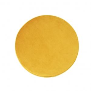 03 resized 300x300 - Okrągła pufa Small żółty welur