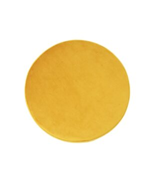 03 resized 300x360 - Okrągła pufa Small żółty welur