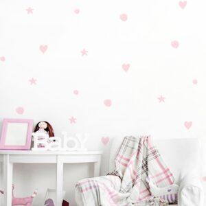 1 max 102 300x300 - Naklejki na ścianę pastelowe kształty DK146