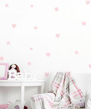 1 max 102 300x360 - Naklejki na ścianę pastelowe kształty