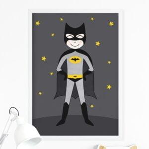 Plakat na ścianę superbohater