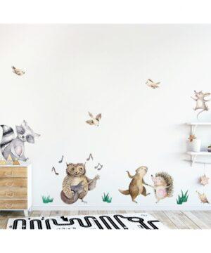 1 max 44 300x360 - Naklejka na ścianę leśna kapela DK260