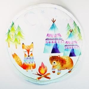 20170822 121055 300x300 - Mata do zabawy leśne zwierzątka
