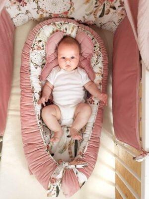 20190118 103046 300x400 - Kokon niemowlęcy łapacz snów różowy