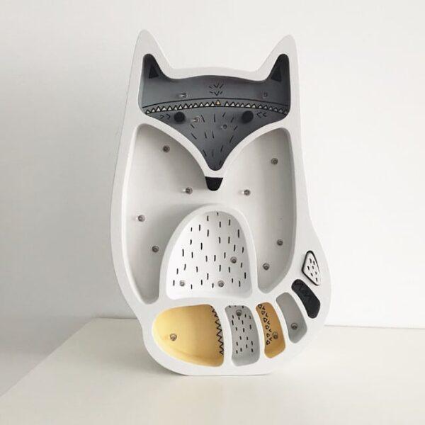Lampa dla dzieci lisek