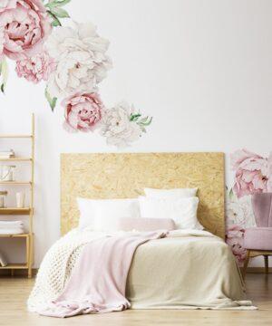 2 max 21 300x360 - Naklejki na ścianę różowe piwonie