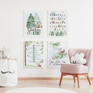 2 max 39 300x300 - Plakat na ścianę lasu szum ptaków śpiew P113