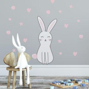 4 max 40 300x300 - Naklejka na ścianę królik Olo DK251