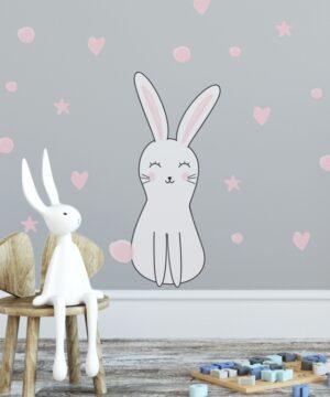 4 max 40 300x360 - Naklejka na ścianę królik Olo