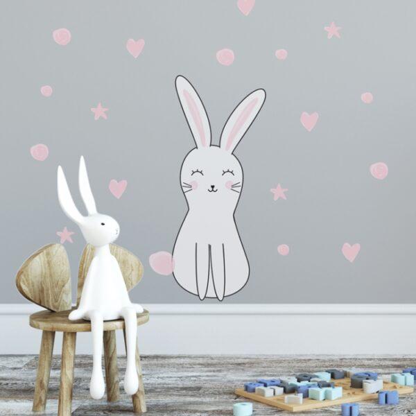 4 max 40 600x600 - Naklejka na ścianę królik Olo