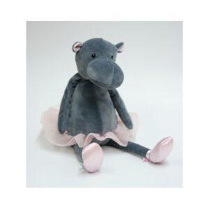 Maskotka przytulanka tancerka hipopotam
