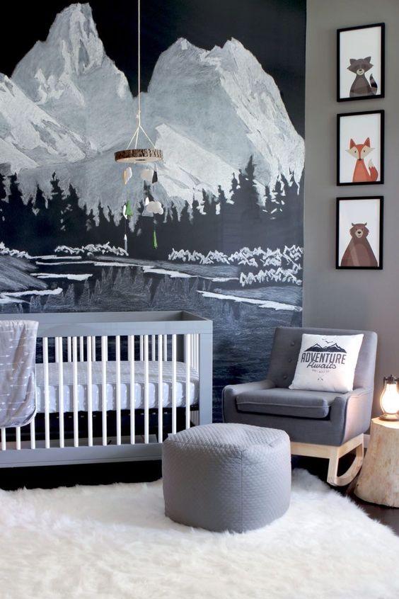 inspiracja 35 - Zimowy klimat w aranżacji pokoju dziecka