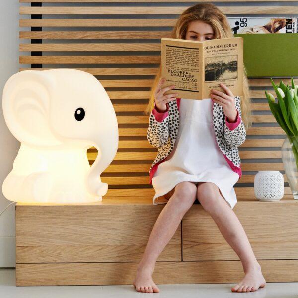 leila anana1 600x600 - Lampa dla dzieci słonik