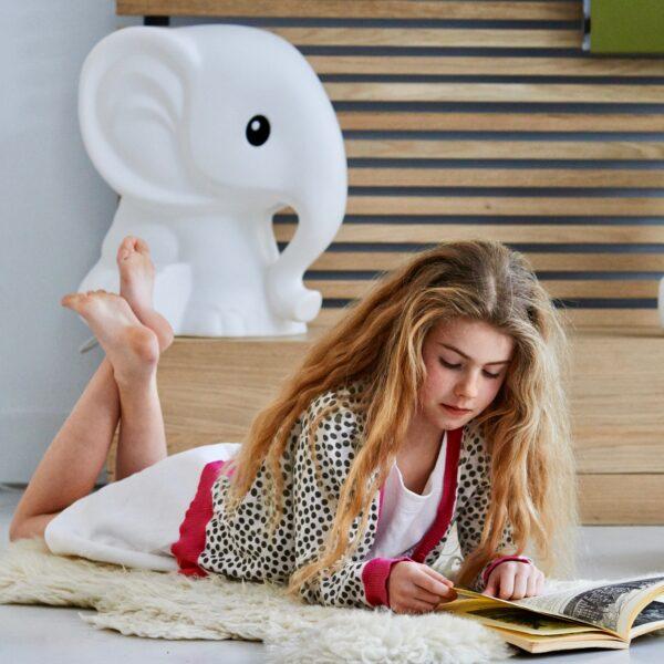 leila anana6 600x600 - Lampa dla dzieci słonik