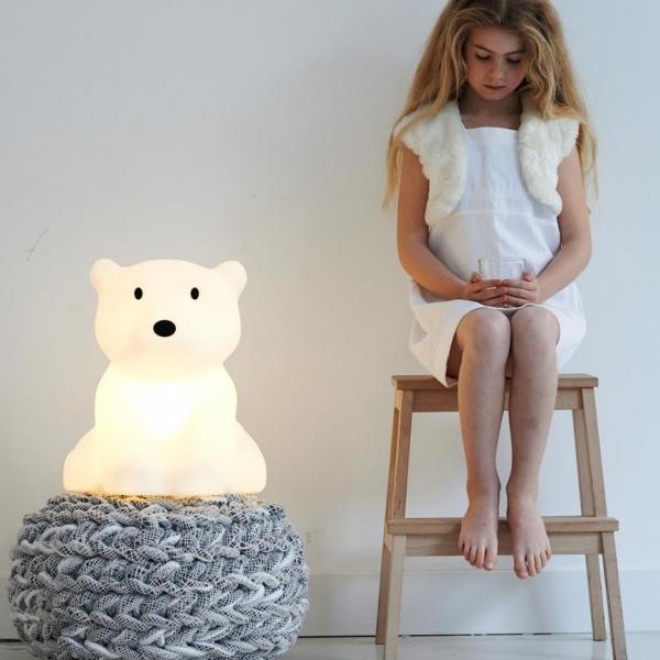 leila nanuk2 Copy 600x600 - Lampa dla dzieci miś polarny