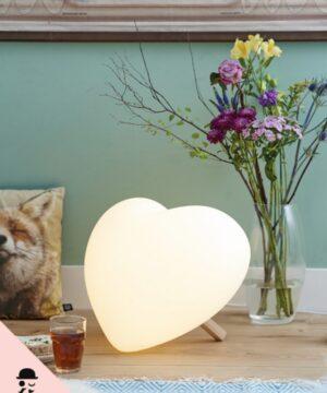 Lampa dekoracyjna led w kształcie serca lia Mr Maria