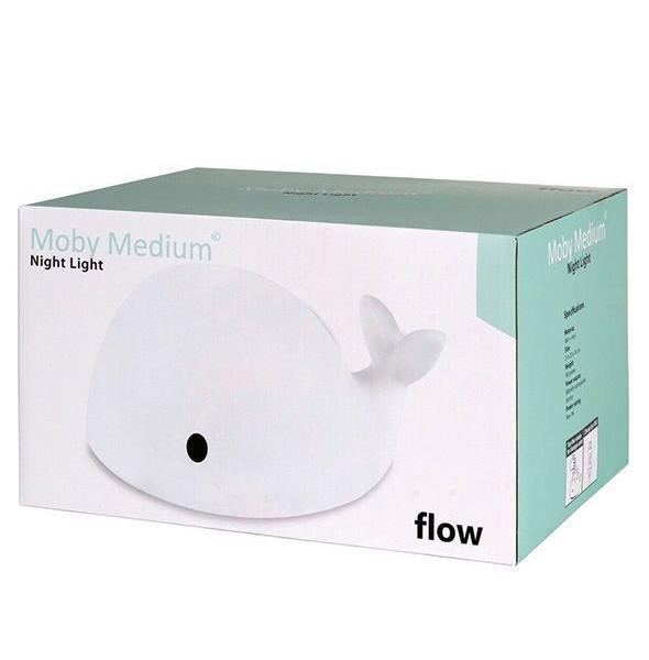 pol pl Flow Amsterdam Lampka Nocna LED Wieloryb Moby Medium 713 11 590x600 - Lampka nocna LED wieloryb Moby medium