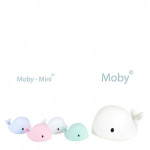 pol pl Flow Amsterdam Lampka Nocna LED Wieloryb Moby Mini Niebieski 1074 4 300x300 - Lampka nocna LED Wieloryb Moby mini różowy