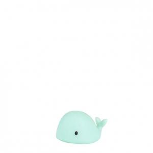 Lampka led wieloryb Moby mini zielony