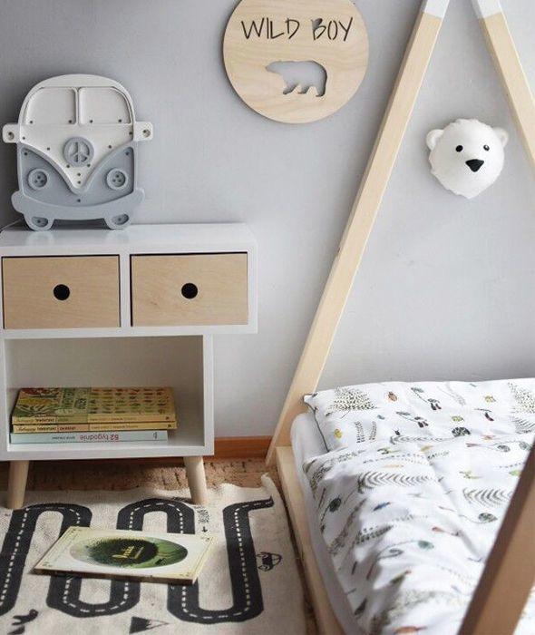 pol pl Flow Amsterdam Lampka Scienna LED Niedzwiedz Bjorn 692 18 - Zimowy klimat w aranżacji pokoju dziecka