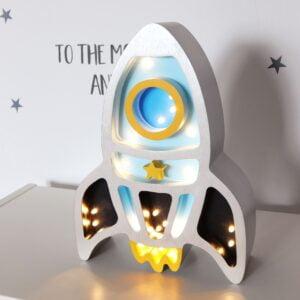 Lampka dekoracyjna rakieta